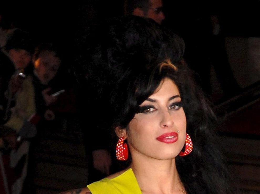 La fallecida cantante Amy Winehouse