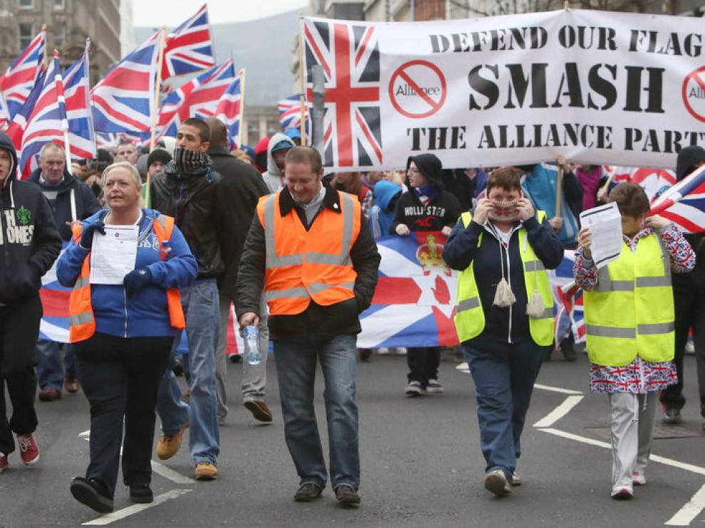 Defensores de la pertenencia al Reino Unido de Irlanda del Norte