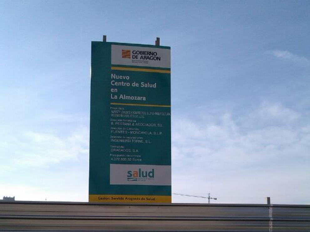 Obras del nuevo centro de salud de La Almozara