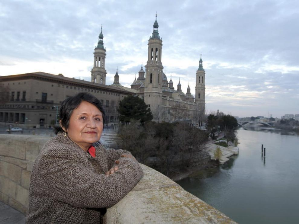 Antonieta Noli, una de las representantes que participan en la Conferencia Internacional del Agua.