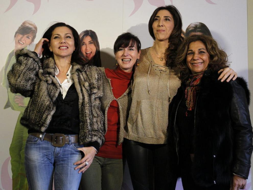 Ana Hurtado, Fabiola Toledo, Paz Padilla y Lolita