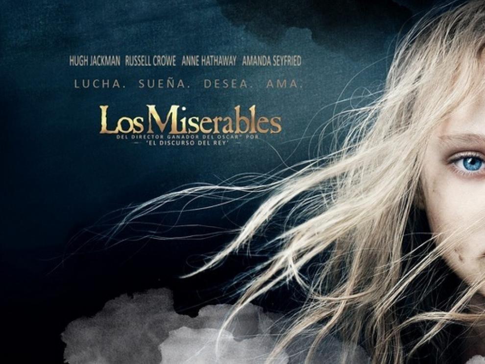 Cartel de la película 'Los Miserables'.