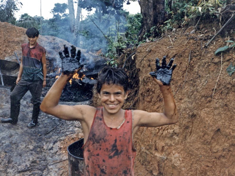 Sus documentales muestran los abusos de las compañías petrolíferas en la cuenca amazónica. ANDREA CIANFERONI