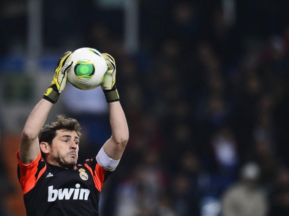 Casillas salvó el partido para el Madrid