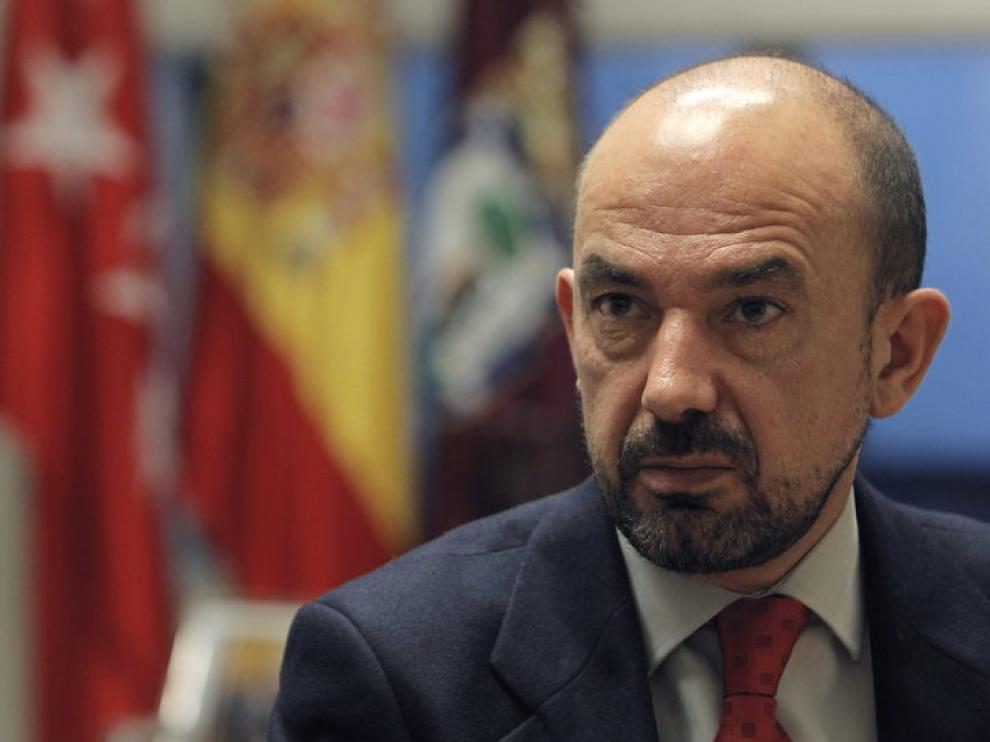El vicealcalde de Madrid, Miguel Ángel Villanueva.