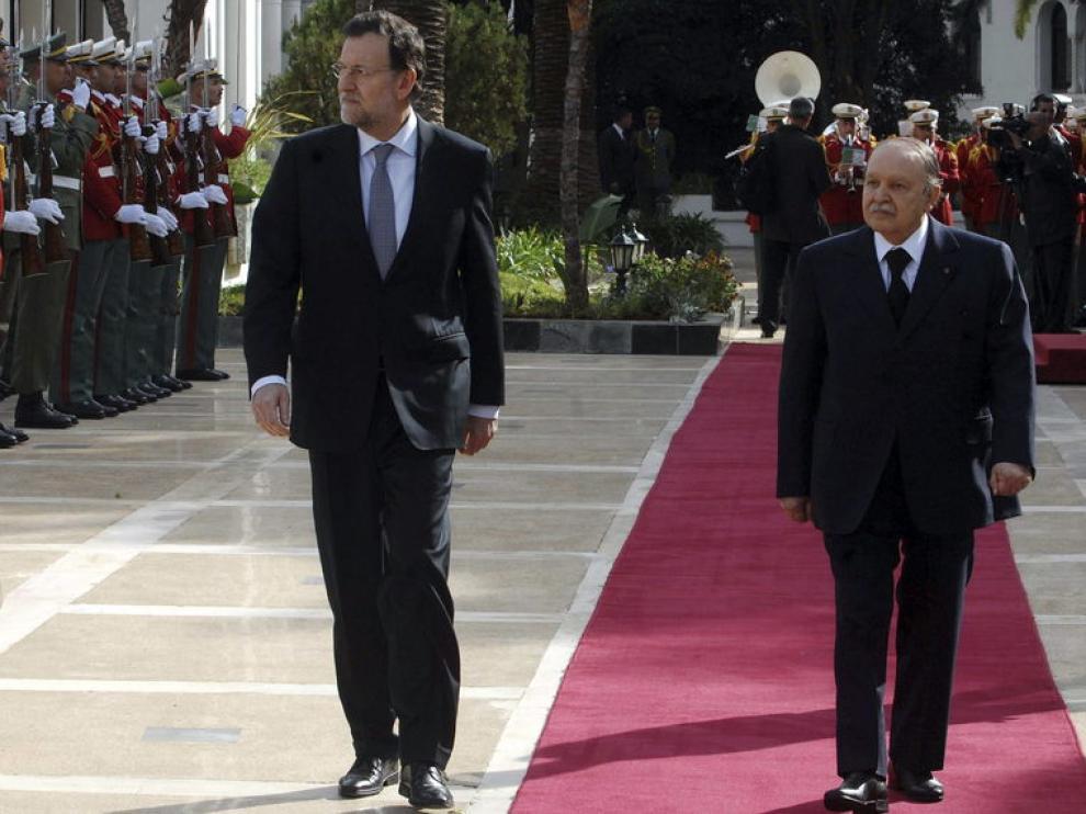 Rajoy  ha anunciado un encuentro de empresarios españoles y argelinos en marzo