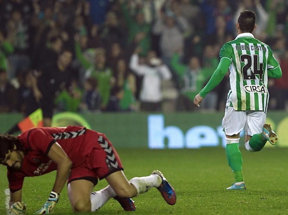 El gol de Rubén Castro acabó con las esperanzas canarias