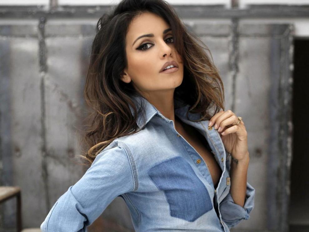 La actriz Mónica Cruz