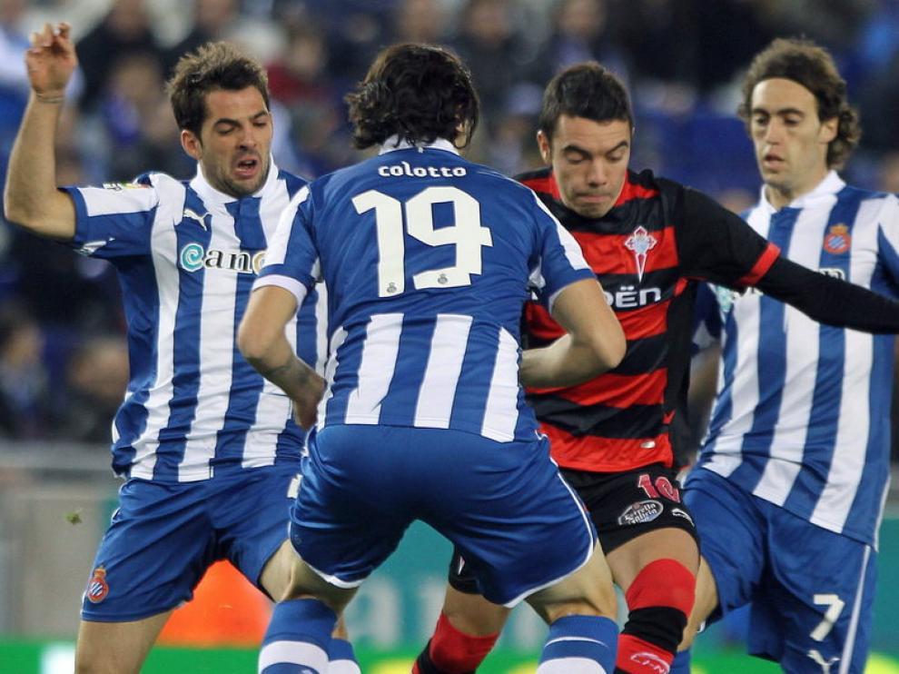 Imagen del Espanyol-Celta