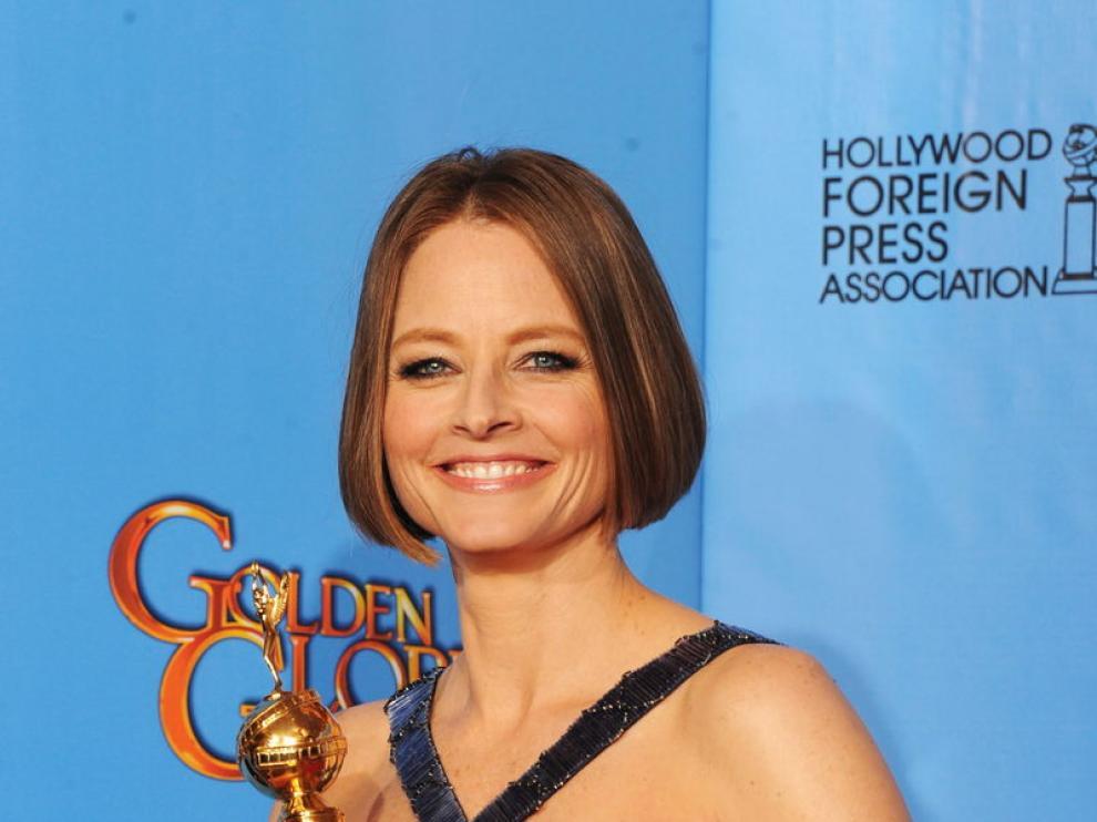 Jodie Foster recibió un Globo de Oro en reconocimiento a su trayectoria