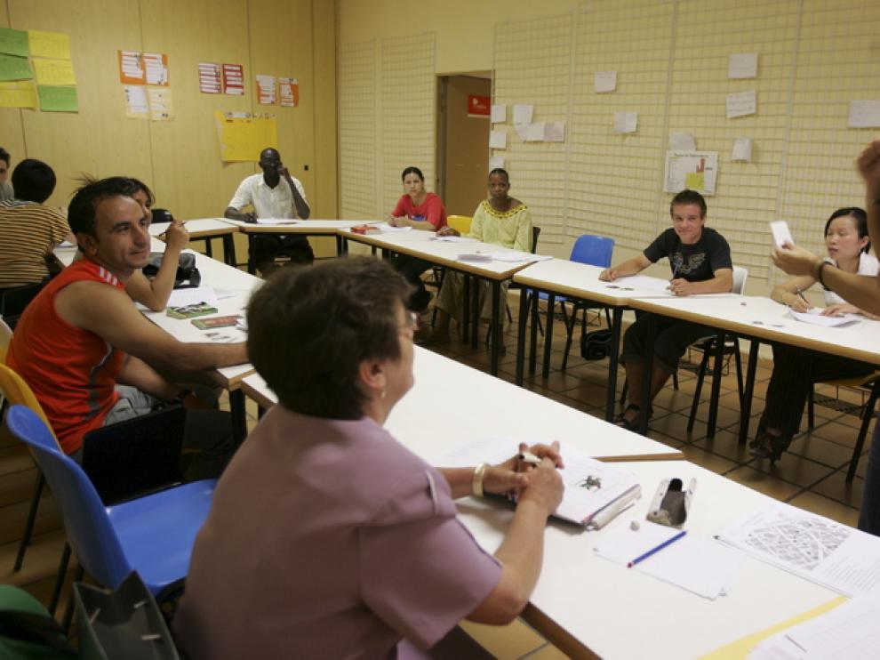 Imagen de archivo de una de las clases