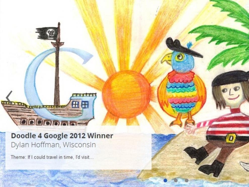 Doodle vencedor en 2012