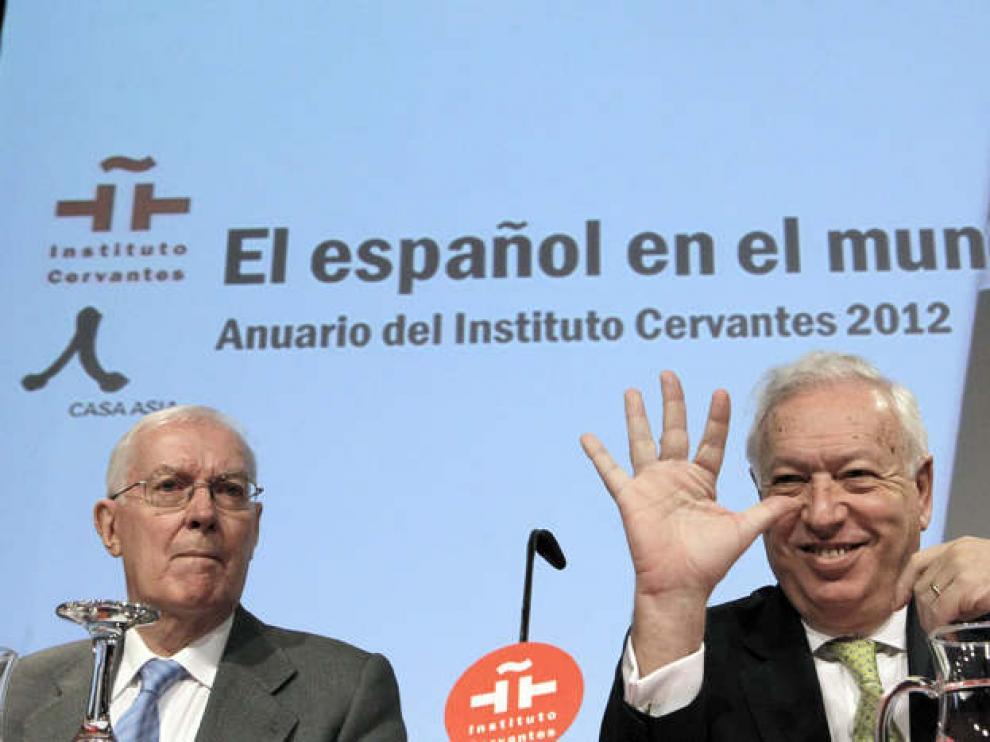 Víctor García de la Concha y José Manuel García-Margallo