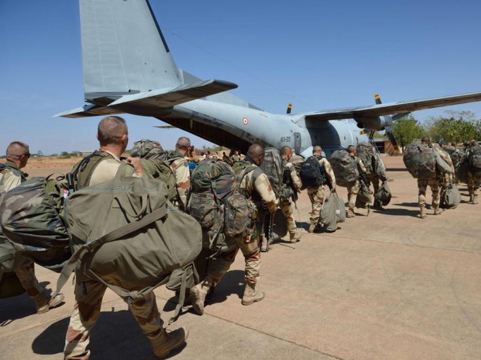 Base aérea francesa cerca de Bamako