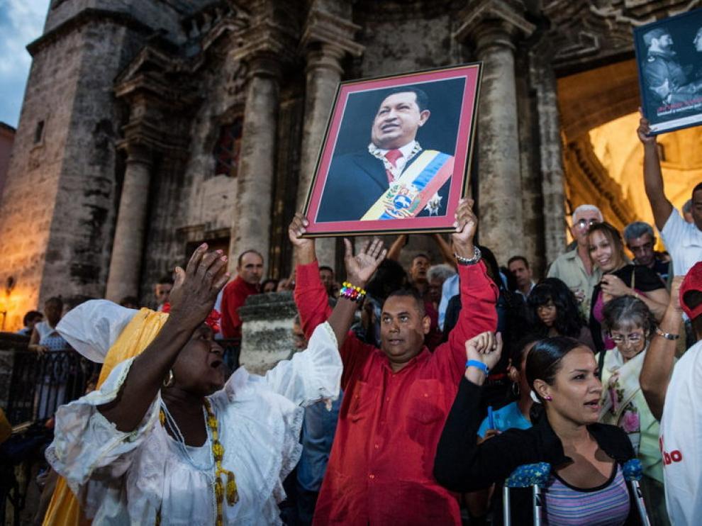 Misa de apoyo a Chávez celebrada en Venezuela