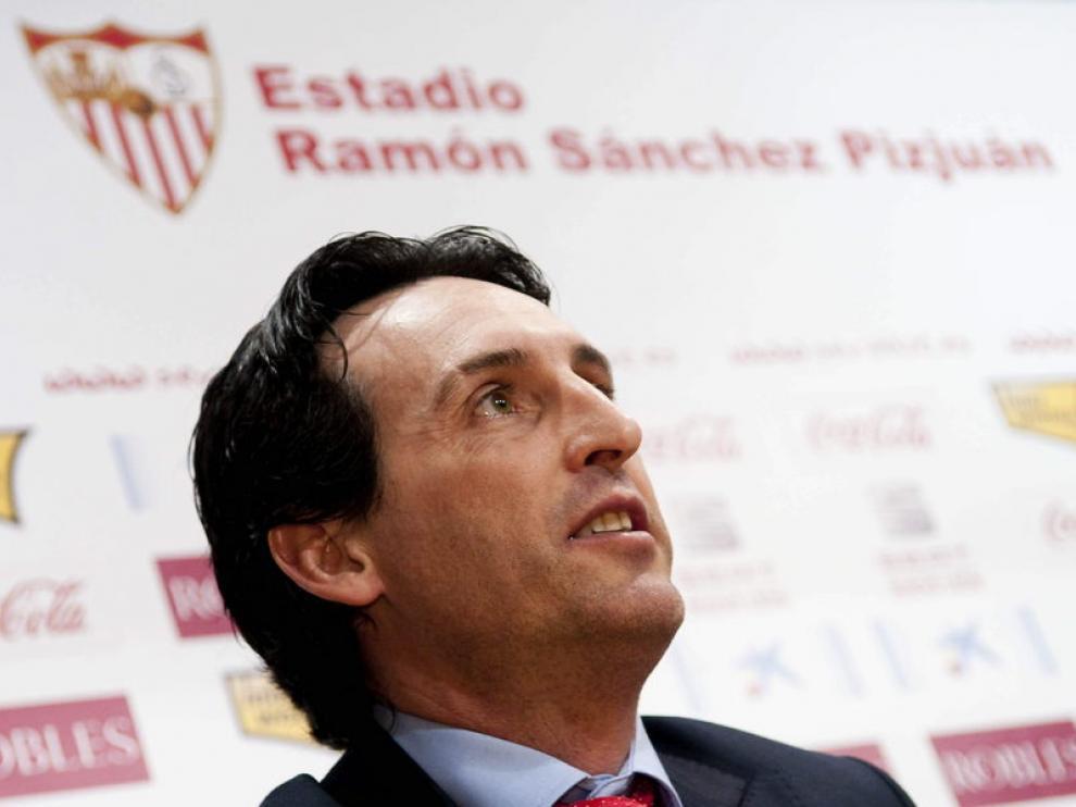 Unai Emery, nuevo técnico del PSG.