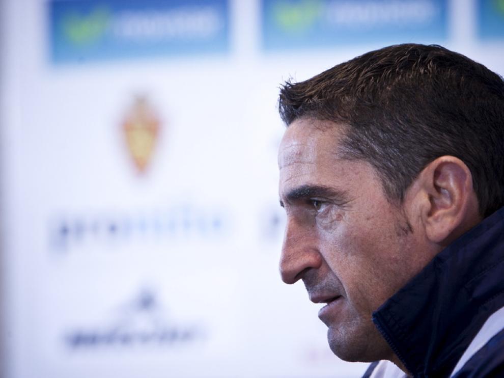 Manolo Jiménez, entrenador del Real Zaragoza