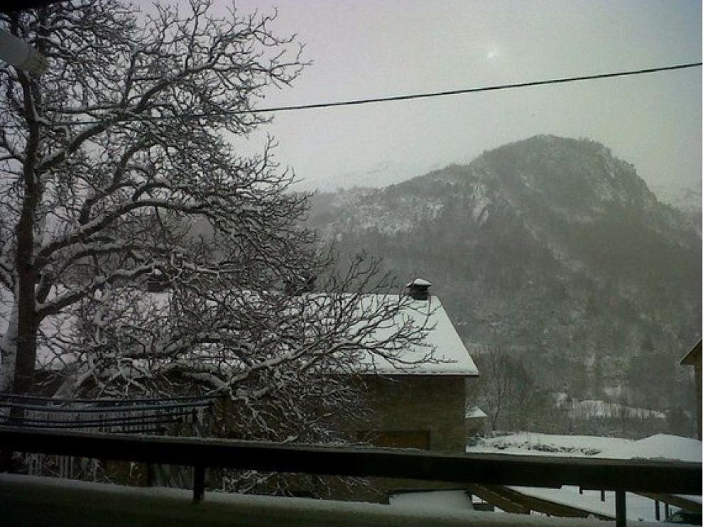 Nieve en Panticosa