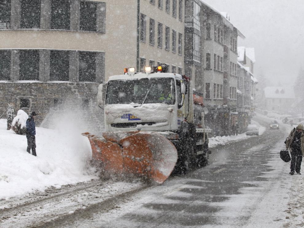 Huesca activa un plan para actuar en situaciones meteorológicas complicadas