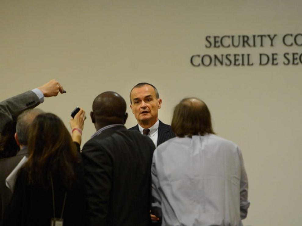El embajador francés ante Naciones Unidas, Gerard Araud