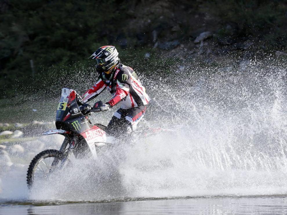 El piloto español Joan Barreda gana la décima etapa