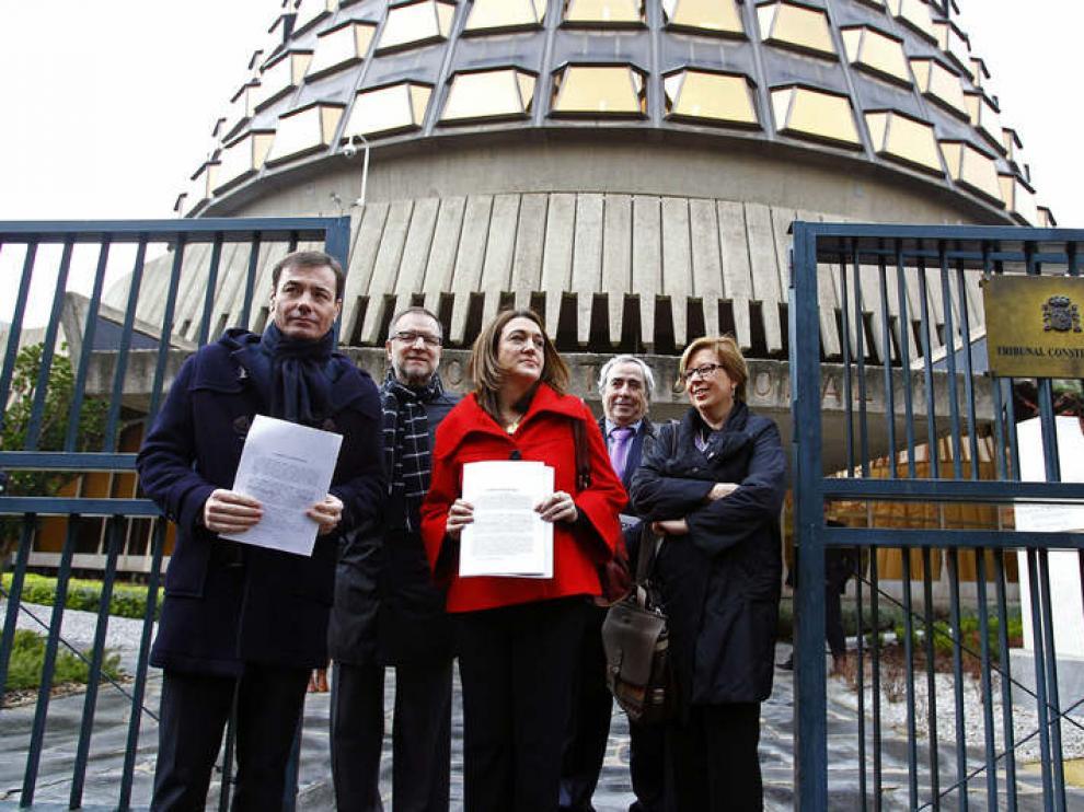 El PSOE presentó este martes un recurso contra el euro por receta en Madrid.