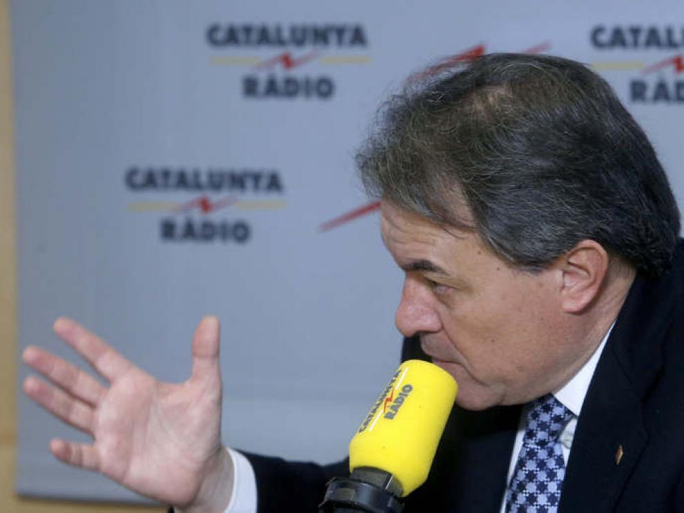 """Artur Mas ha asegurado que Cataluña """"debe seguir su camino"""""""