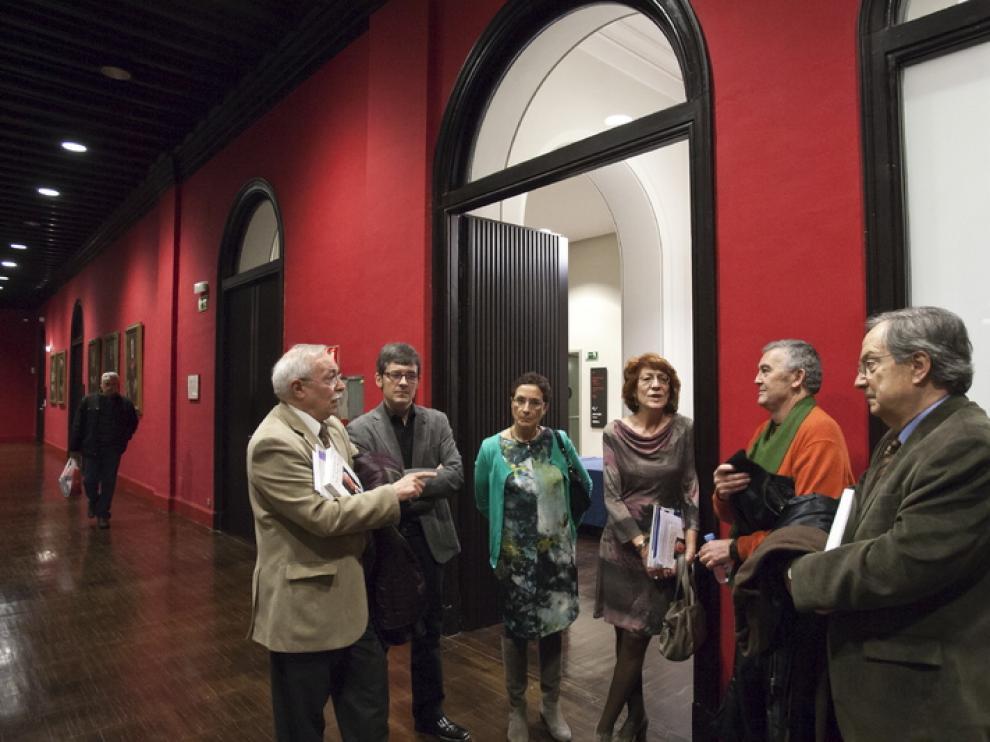 Los amigos del director participaron en la presentación del libro 'José Luis Borau. La vida no da para más'