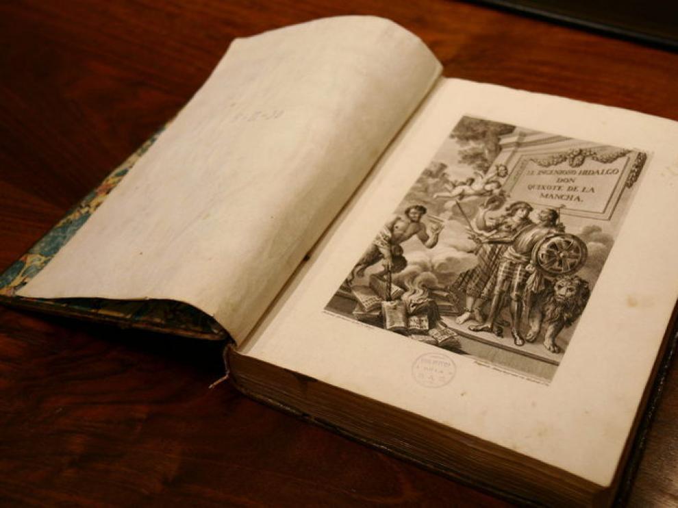 Edición ilustrada del Quijote de Ibarra, de 1780
