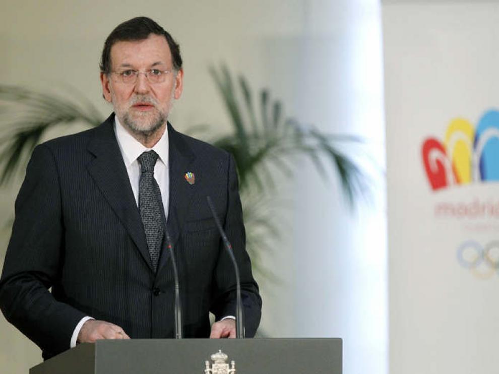 Rajoy, en la presentación del dossier