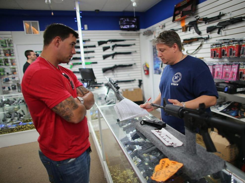 El número de armas vendidas el pasado año es el mayor desde que hay datos