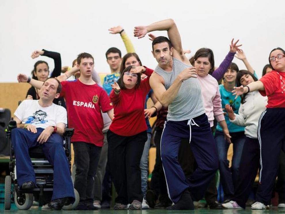 'Danza para la inclusión', en Atades.