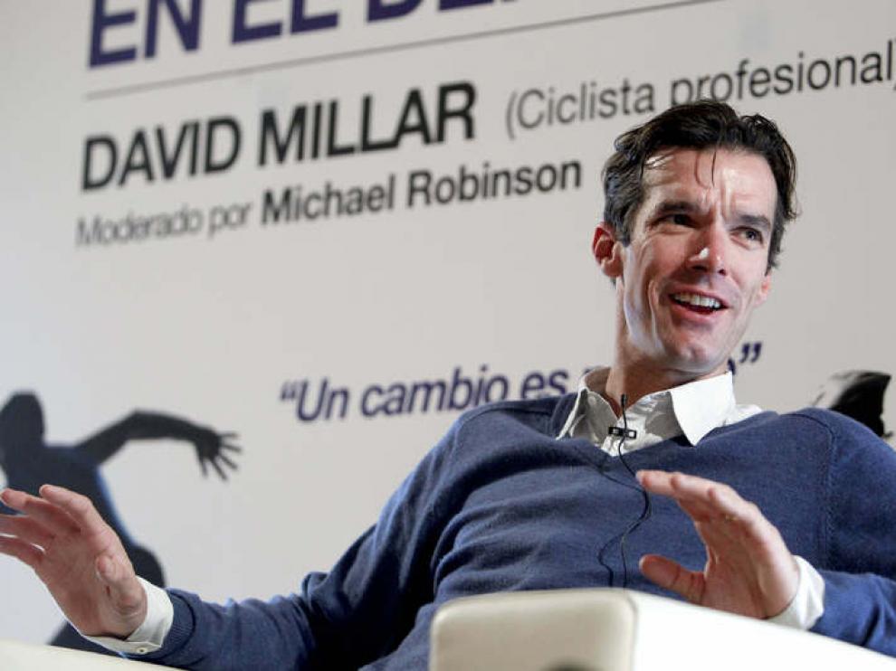 El ciclista ha hablado de su experiencia este viernes en Madrid.