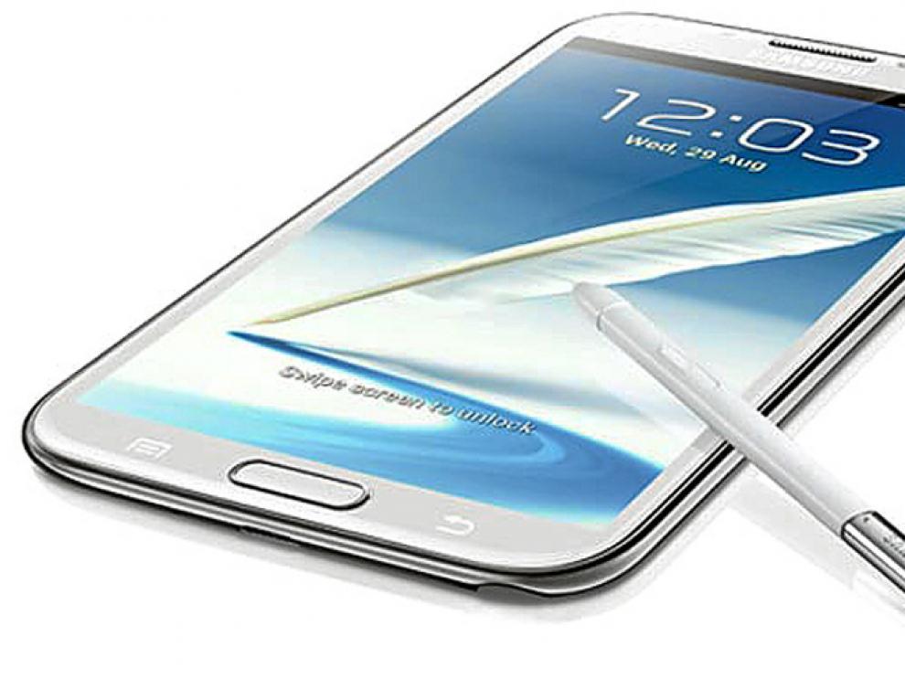 El Galaxy Note 2, uno de los terminales estrella de este año