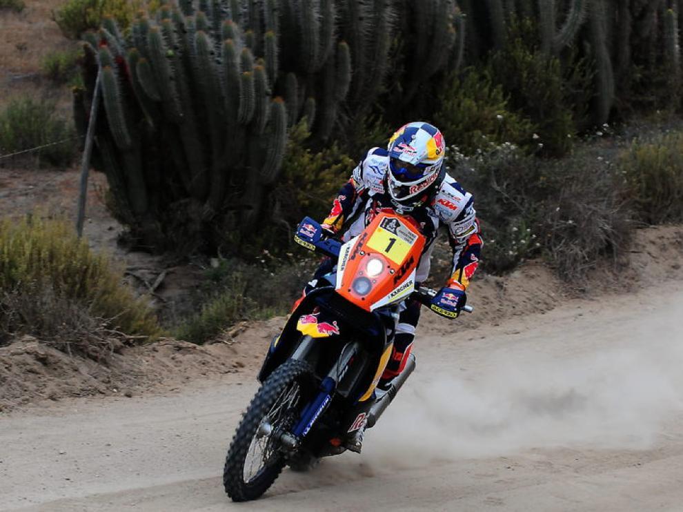 Despres este sábado en la última etapa del Dakar