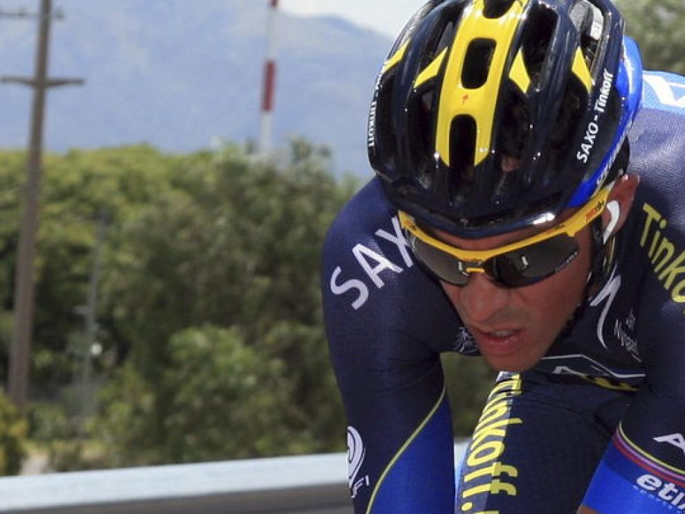 Alberto Contador, en Sudamérica