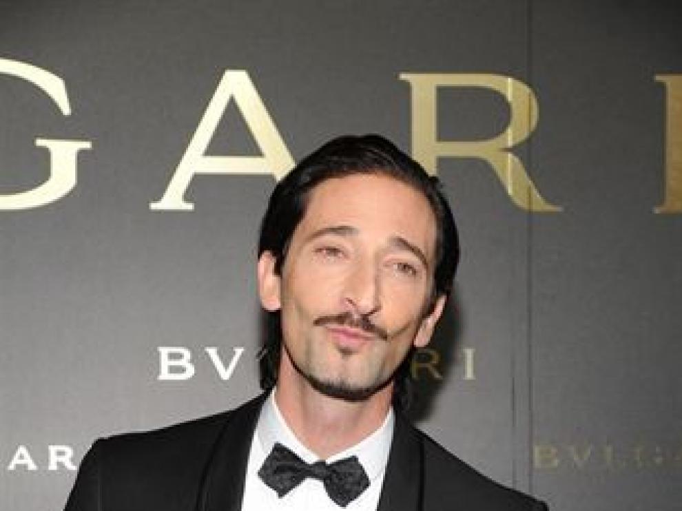 El ganador de un Oscar Adrien Brody será el nuevo embajador de los relojes y gafas Bulgari.
