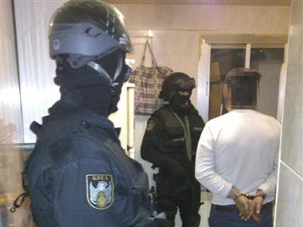 La Policía Nacional desmantela un punto de venta de estupefacientes en Huesca