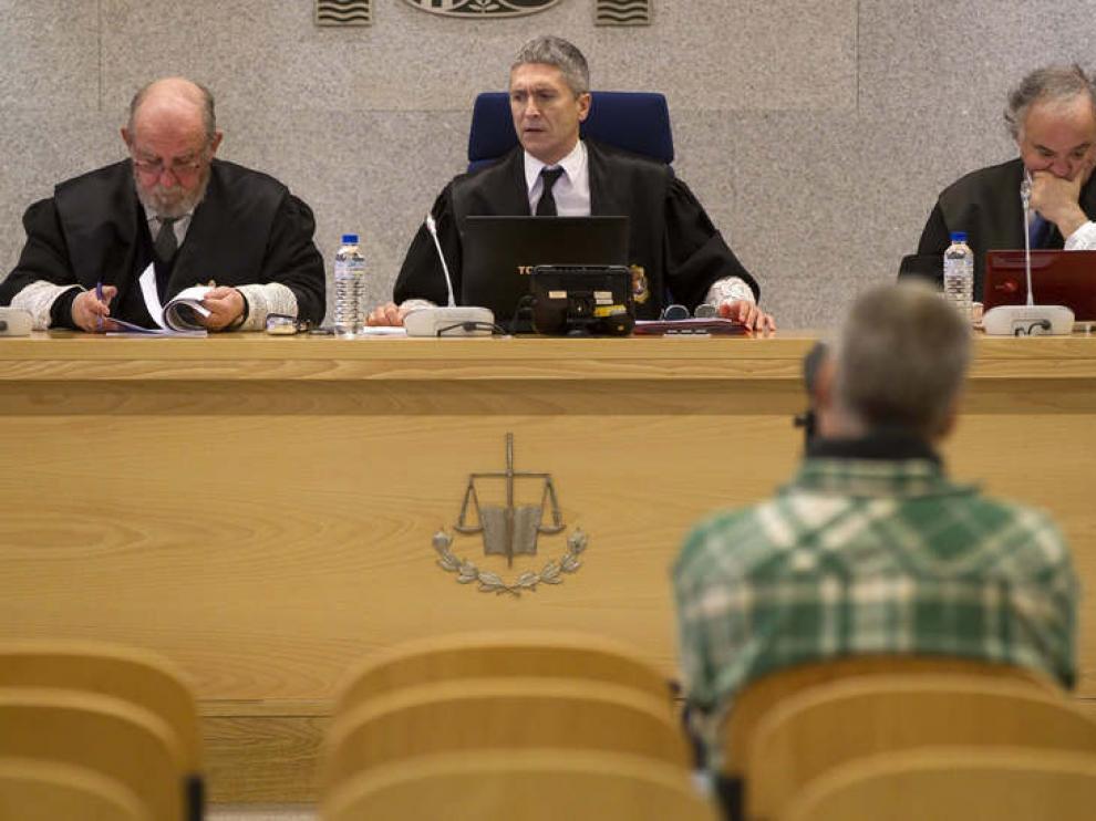 El etarra 'Txapote', ante el tribunal