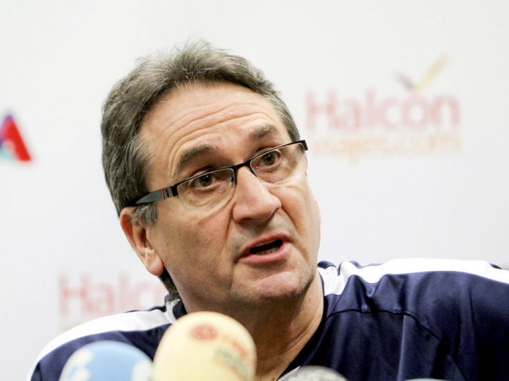 El técnico aragonés, Valero Rivera