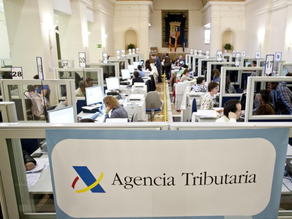 Delegación de la Agencia Tributaria en Zaragoza.