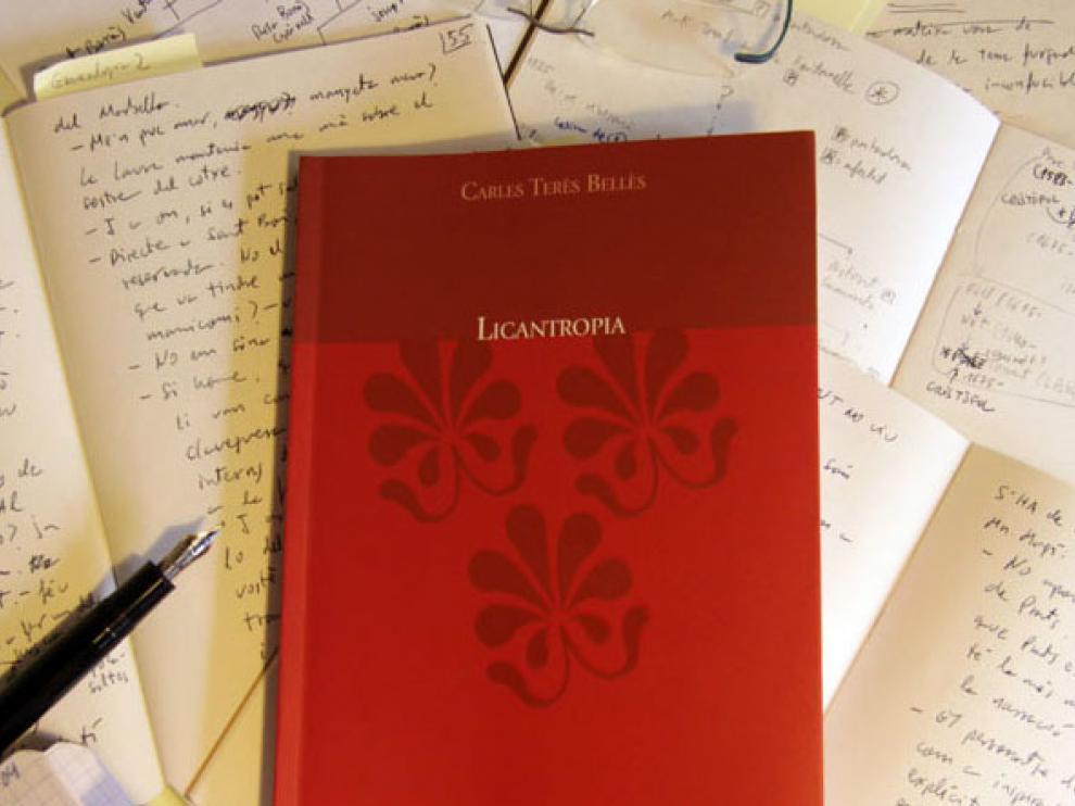 La novela 'Licantropia', de Carles Terès.