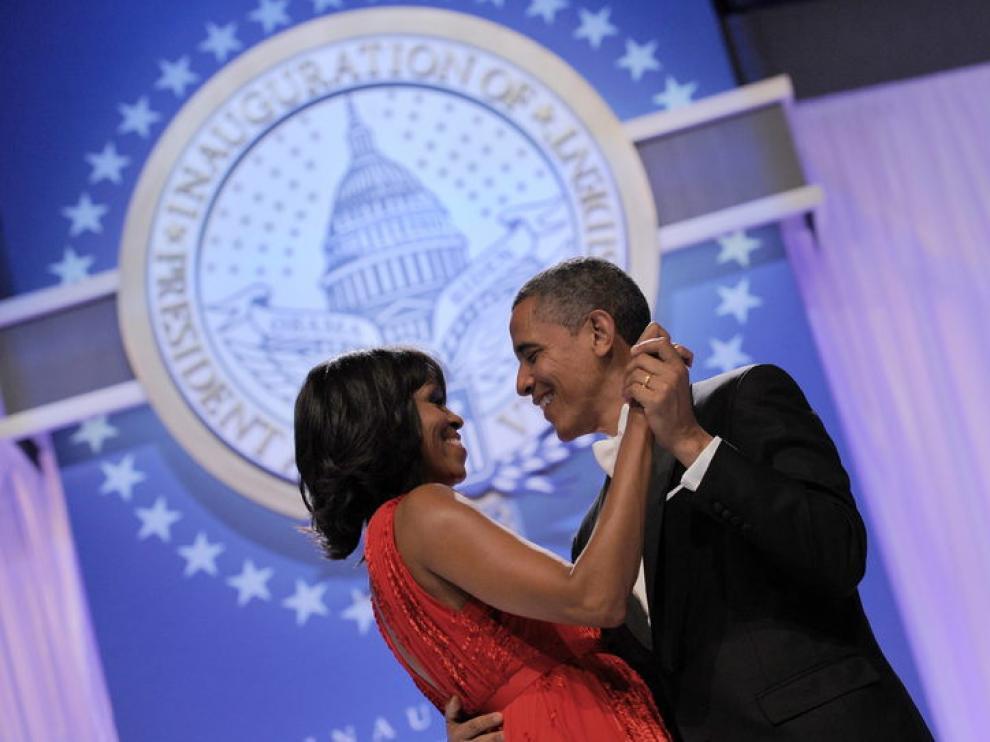 Baile de Michelle y Barack Obama