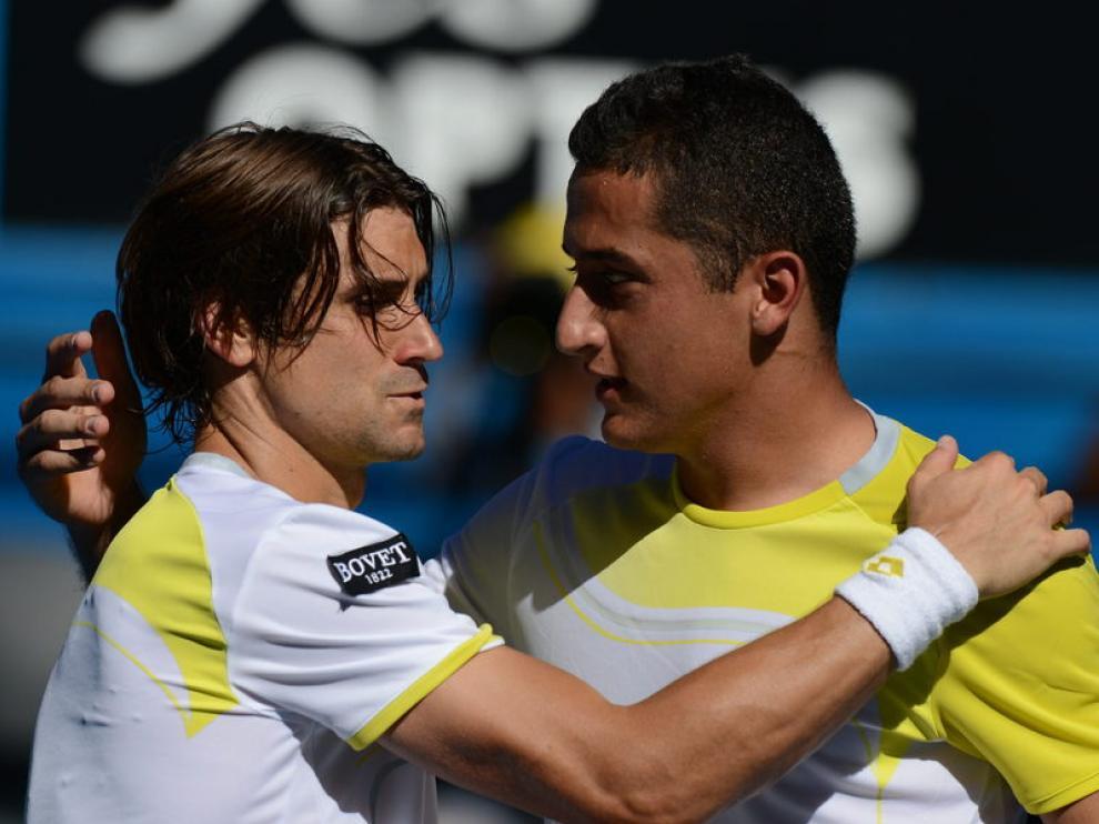 Ferrer y Almagro tras su enfrentamiento en Australia