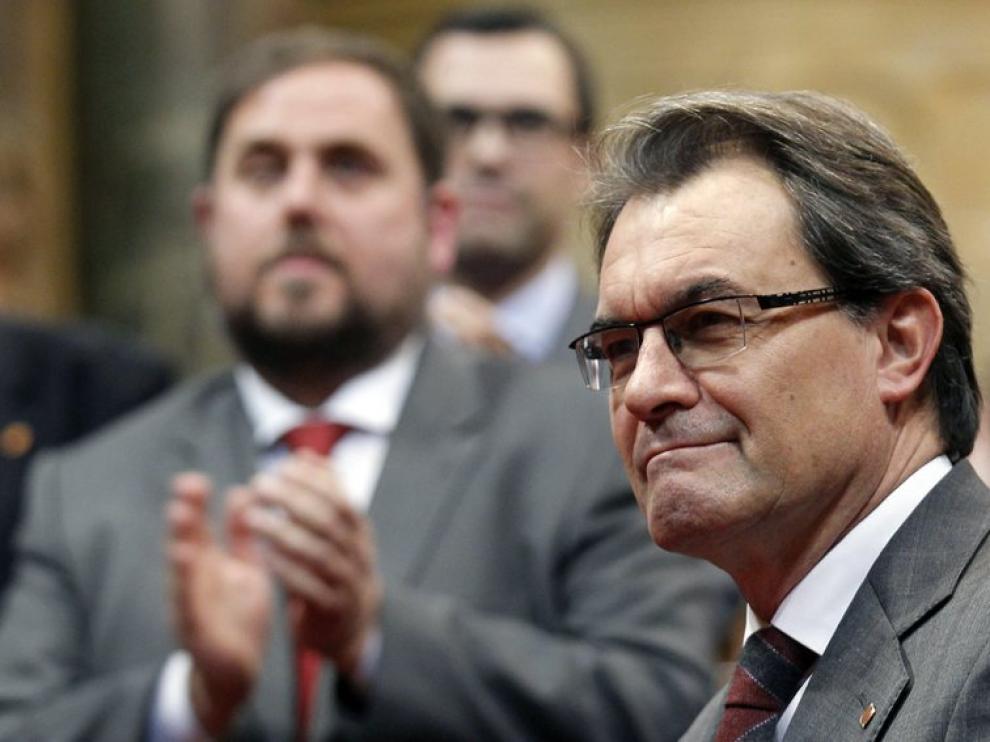 """El presidente quiere """"ampliar"""" con el PSC el acuerdo sobre la declaración de soberanía"""