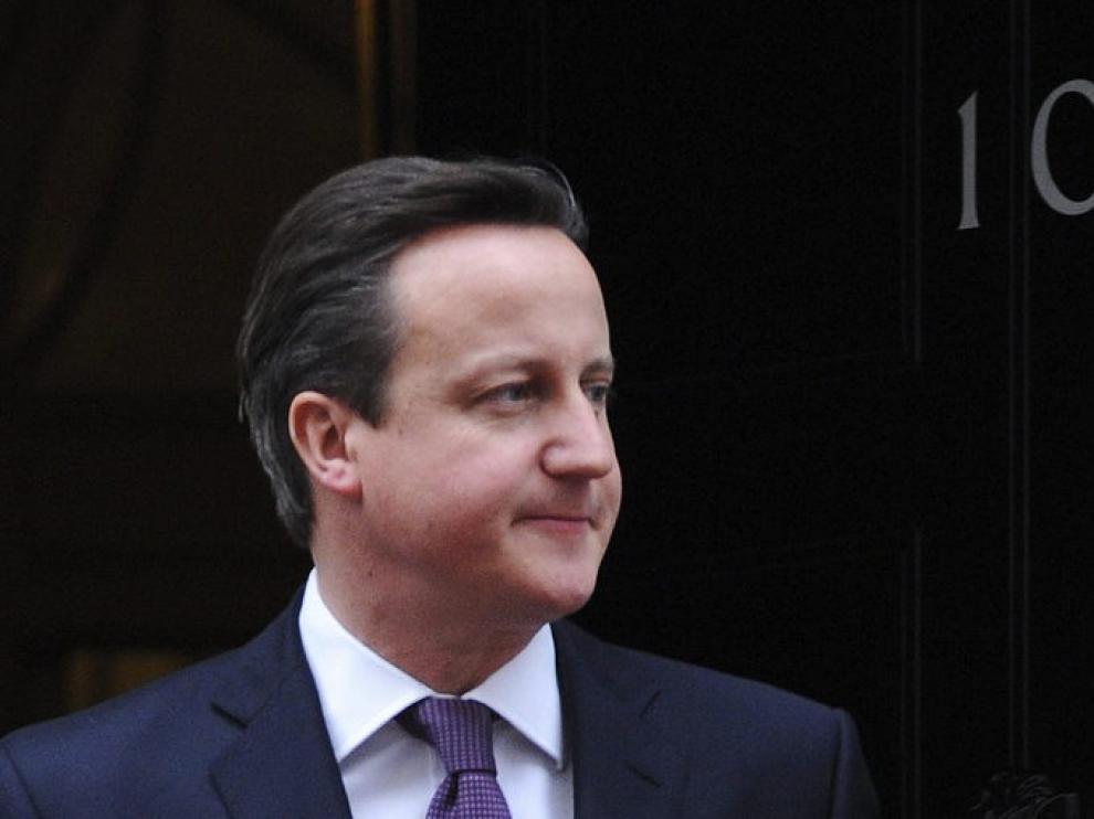 El primer ministros británico David Cameron