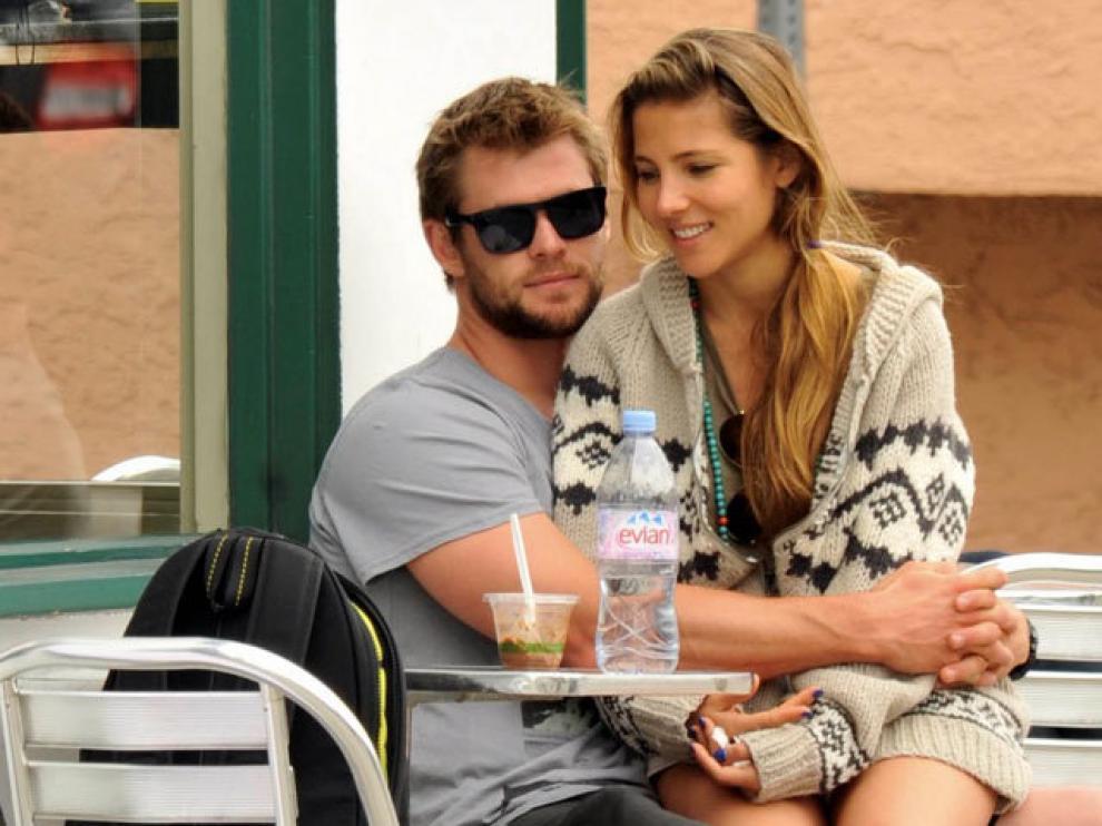 La pareja formada por Elsa y 'Thor'