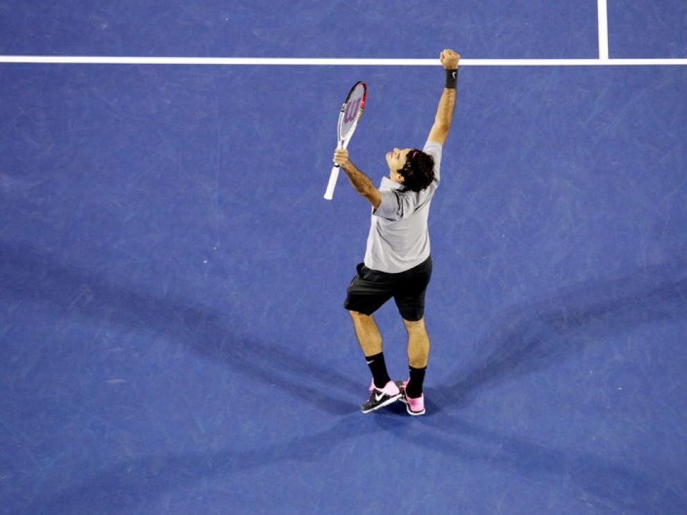 El suizo Roger Federer