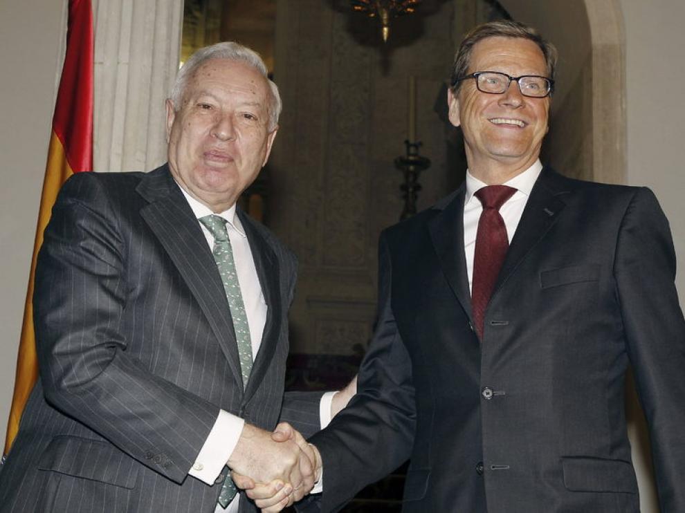 """El ministro de Exteriores alemán ha asegurado en español  """"Alemania está al lado de España"""""""