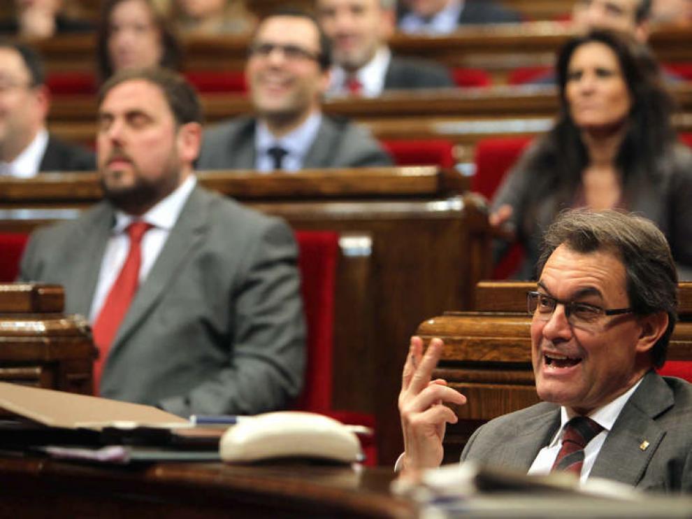 Debate en Cataluña